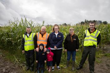 'Maize' nature trail raising funds for charity