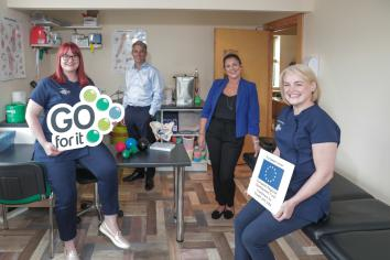 Health practitioners join forces in new business venture