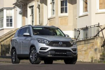 SSANGYONG REXTON 'BEST VALUE 4x4' FOR FOURTH CONSECUTIVE YEAR
