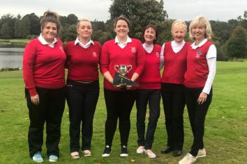 Debbie captains Newtownstewart's Cowdy Cup team to victory in final