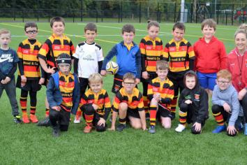 Strabane Minis make history with first league match and win