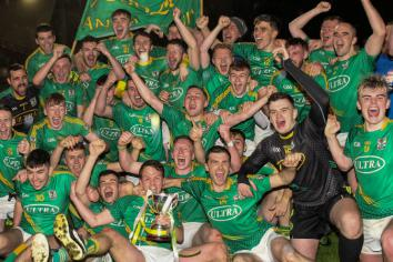 Newtown survive late Beragh fightback to take title