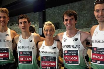 McGlynn clocks significant PB as NI team perform well at Commonwealth Championships