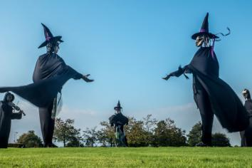 Discover 'bigger and better' Hay Sculpture Trail across the district this Halloween