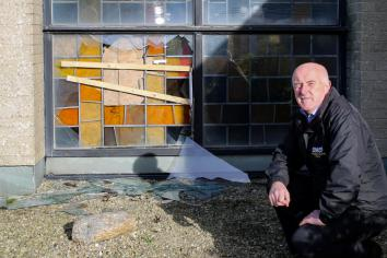 'Revulsion and anger' over Sion break-ins