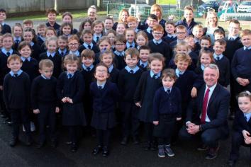 'Best Rural School' among hat-trick of awards for St Eugene's PS