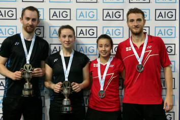 CHAMPIONS! Chloe and Sam clinch Irish Open trophy in style