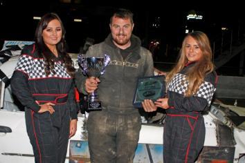Donemana's Leonard continues to lead the way on NI's 'banger'  racing scene