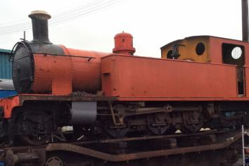 Veteran Donegal locomotive undergoes major facelift