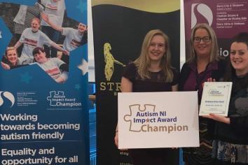 Strabane Brass Band achieves Autism Impact Award