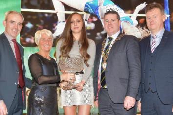 Castlederg's Sommer Lecky wins 'Overall Sports Star Award'