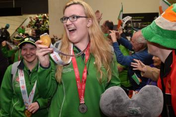 Gold medal 'greatly deserved' for hard-working Siobhan