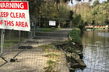 Work ongoing to remedy Sion Mills riverside damage, council told