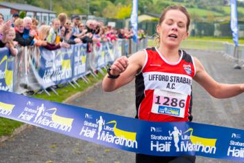 Claire tops the podium as Half Marathon hailed a huge success