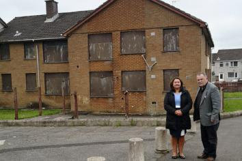 Housing Executive confirms work to modernise 'eyesore' Lisnafin flats