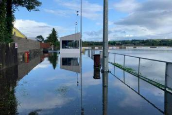 Torrential downpours cause flash flooding across district
