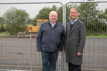 Work begins to upgrade Artigarvan pitch