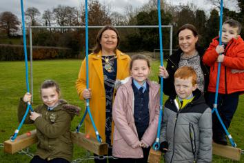 New 'Trim Trail' officially opened at St Eugene's PS
