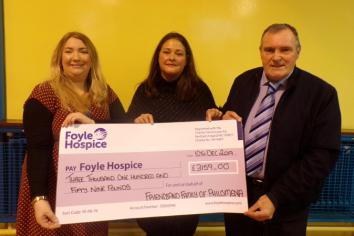 People of Strabane praised for their generosity after over £7,000 raised for Foyle Hospice