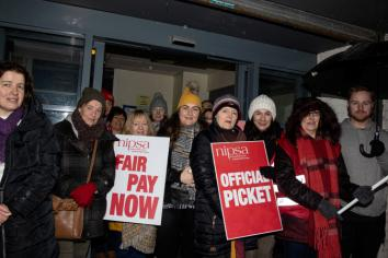 Nurses and health care workers plan further strike action