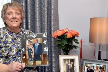 Castlederg foster carer dedicates MBE honour to her late husband