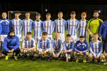 Strabane Athletic U19 are champions!