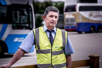 Strabane bus driver shares his experience of working during the pandemic