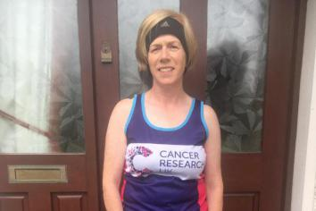 Castlederg woman to complete virtual 'Great North Run' for Cancer Research
