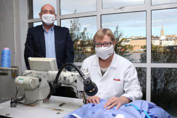 O'Neills to manufacture reusable medical isolation gowns