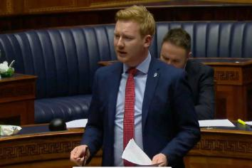 Minister committed to resolving Clady HGV issue 'as quickly as possible'