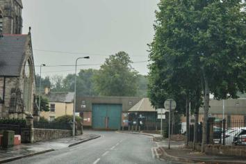 Call for review of Strabane's heavily fortified station